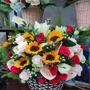 Shop hoa tươi cần Giuộc - Long An